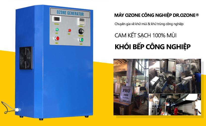 Máy khử mùi ozone công nghiệp Dr.Ozone